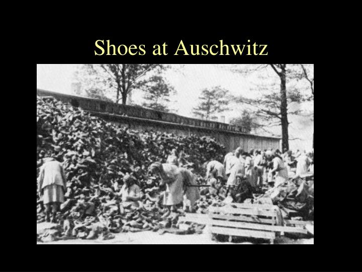 Shoes at Auschwitz