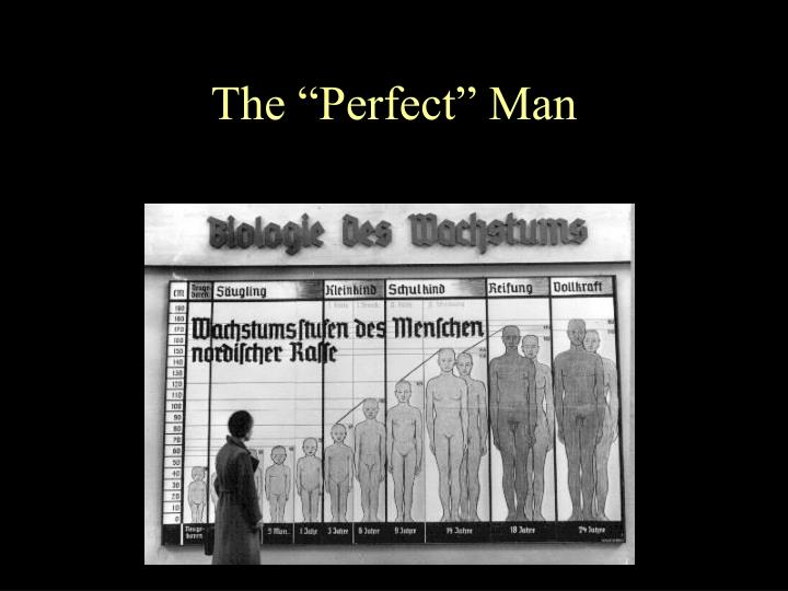 "The ""Perfect"" Man"