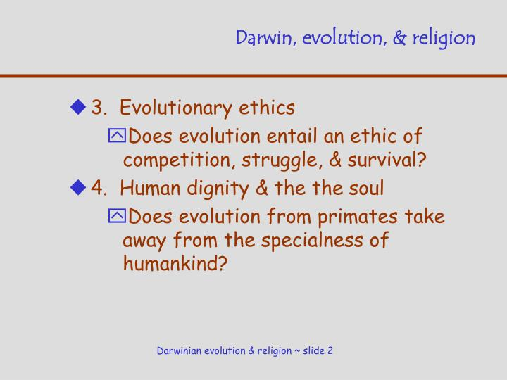 Darwin evolution religion1