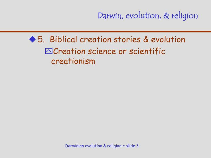 Darwin evolution religion2