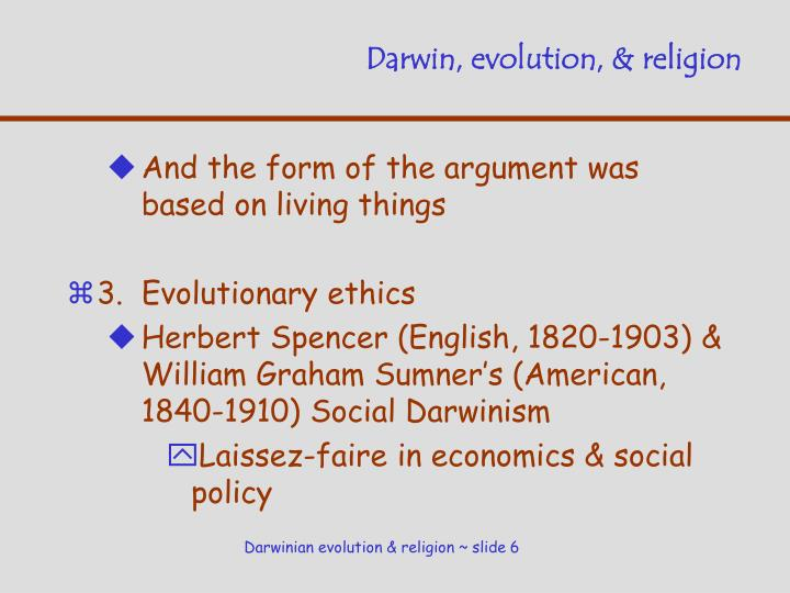 Darwin, evolution, & religion