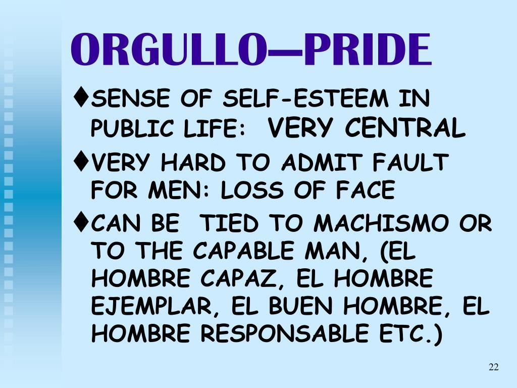 ORGULLO—PRIDE