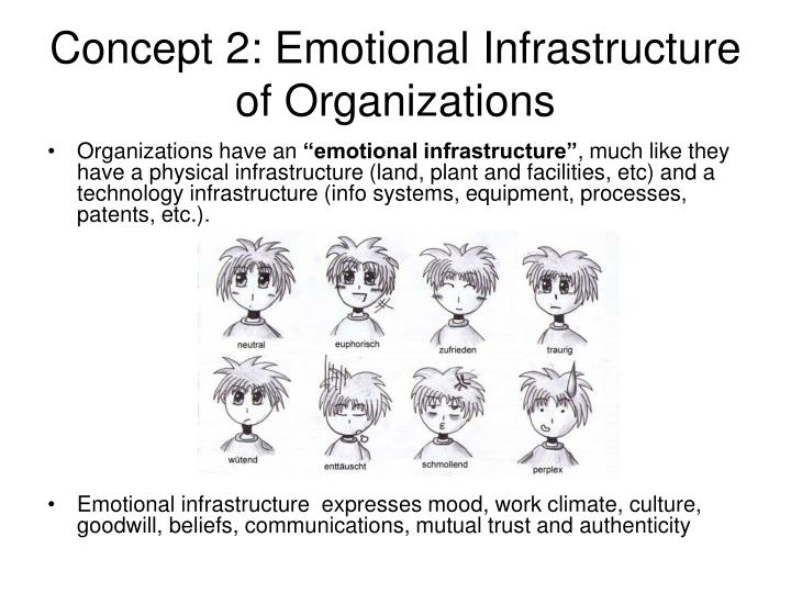 Concept 2: Emotional Infrastructure of Organizations