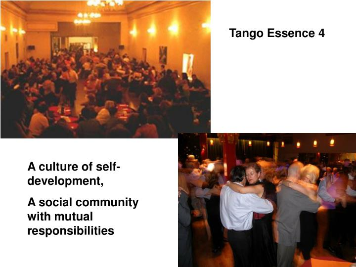 Tango Essence 4