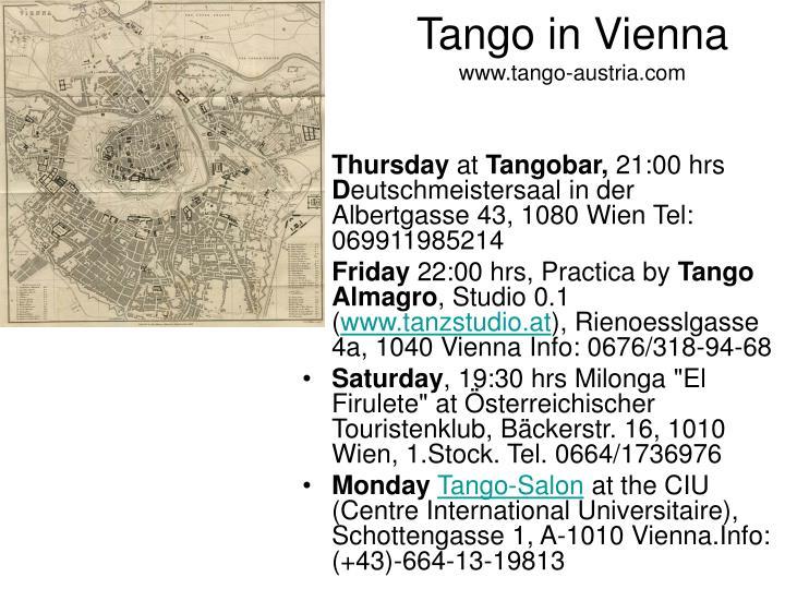 Tango in Vienna