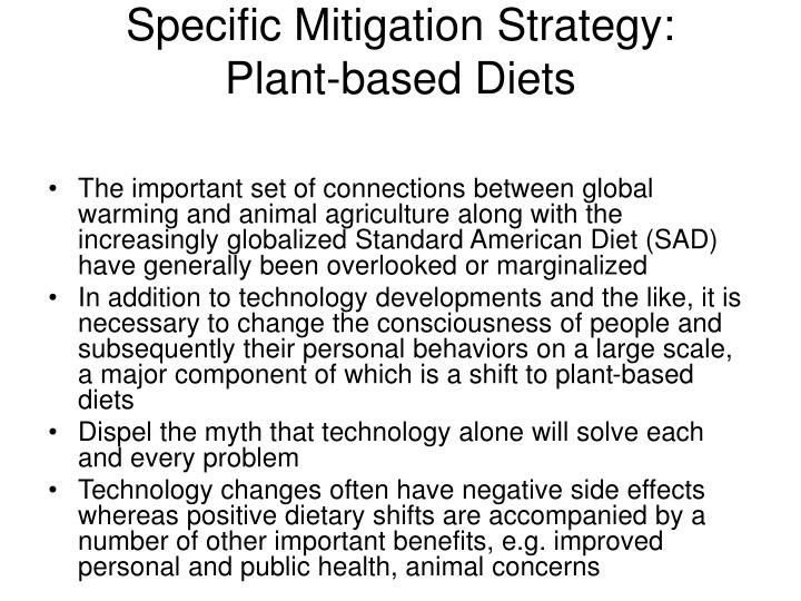 Specific Mitigation Strategy: