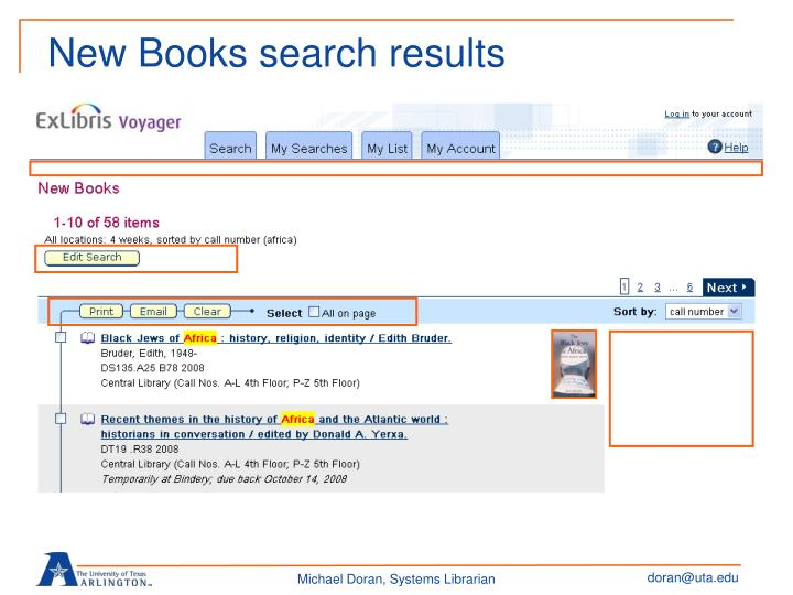 New Books search results