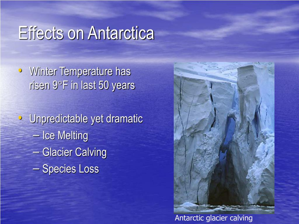 Effects on Antarctica