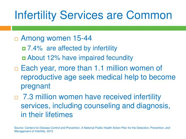Infertility Services are Common