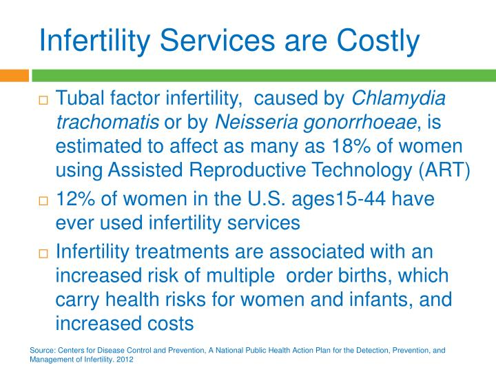 Infertility Services are Costly