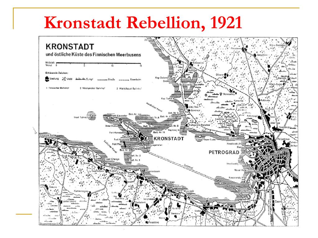 Kronstadt Rebellion, 1921