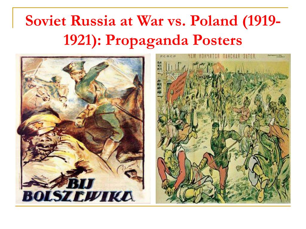 Soviet Russia at War vs. Poland (1919-1921): Propaganda Posters