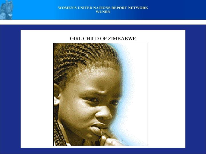 GIRL CHILD OF ZIMBABWE