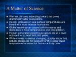 a matter of science1