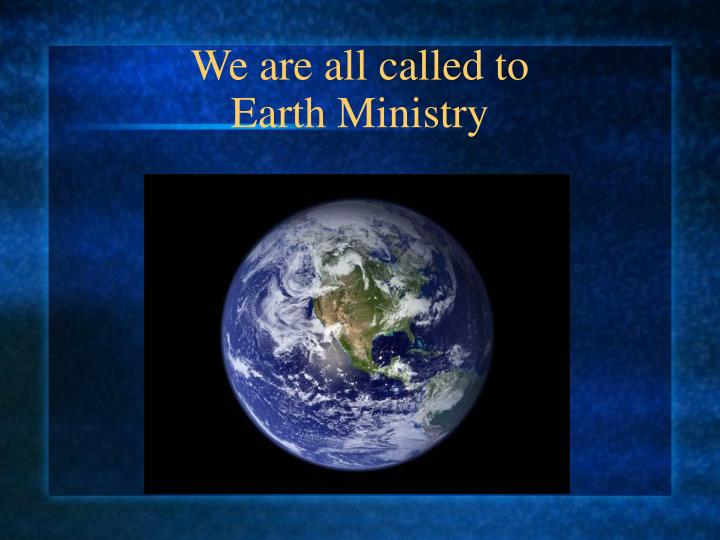 We are all called to