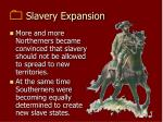 slavery expansion