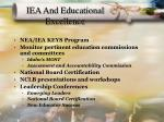 iea and educational excellence