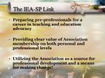 the iea sp link
