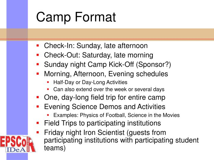 Camp Format