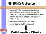 ne epscor mission