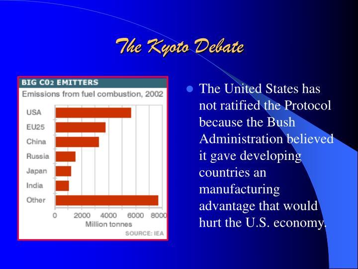 The Kyoto Debate