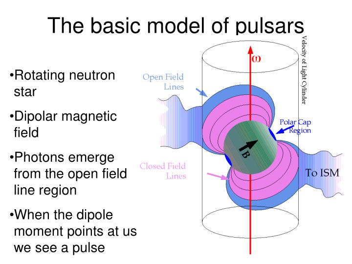 The basic model of pulsars