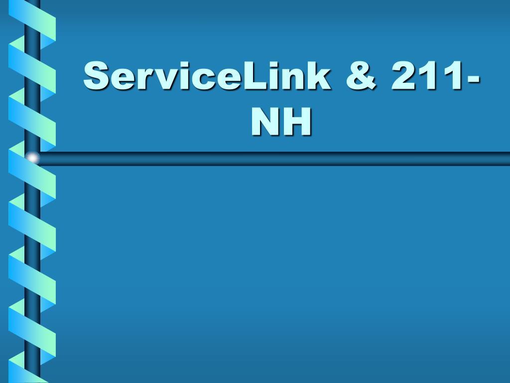 ServiceLink & 211-NH