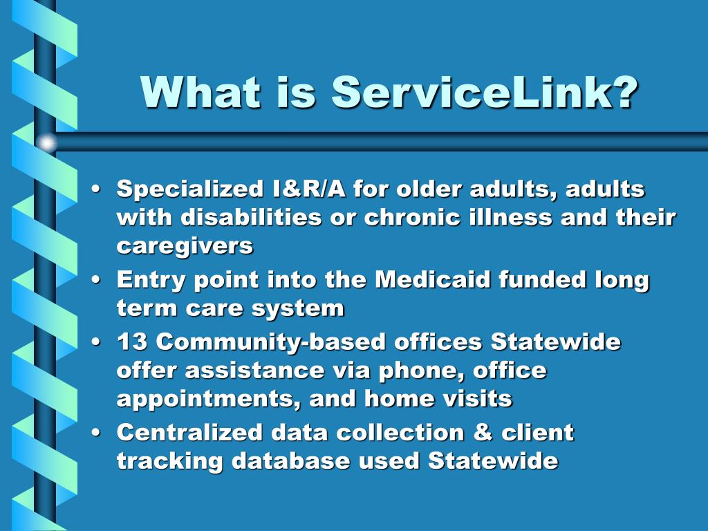 What is ServiceLink?