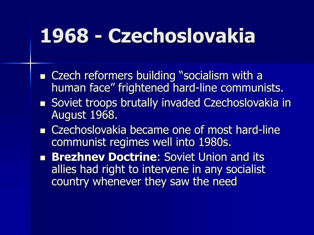 1968 - Czechoslovakia