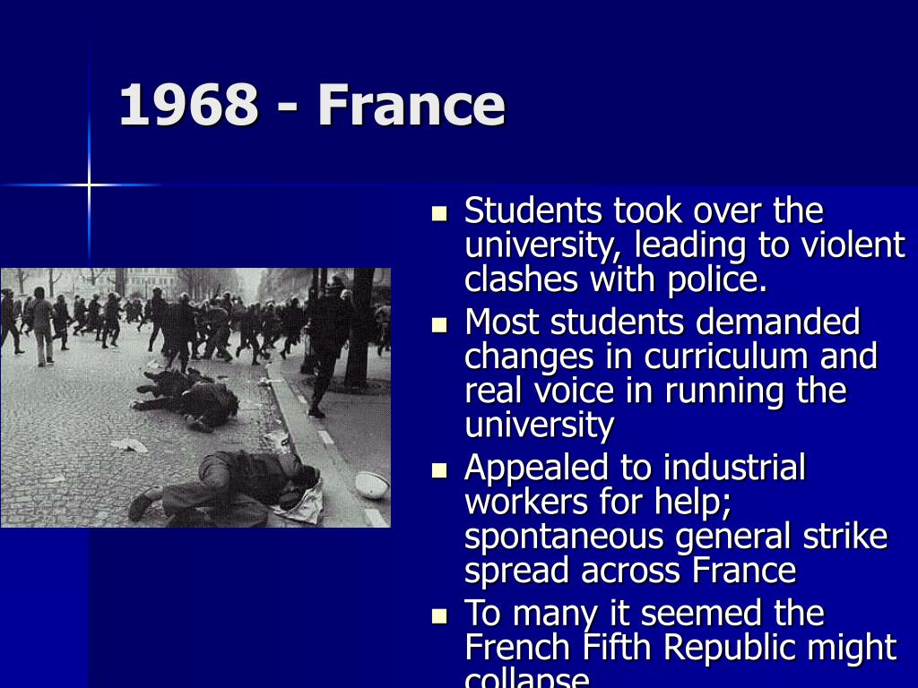 1968 - France