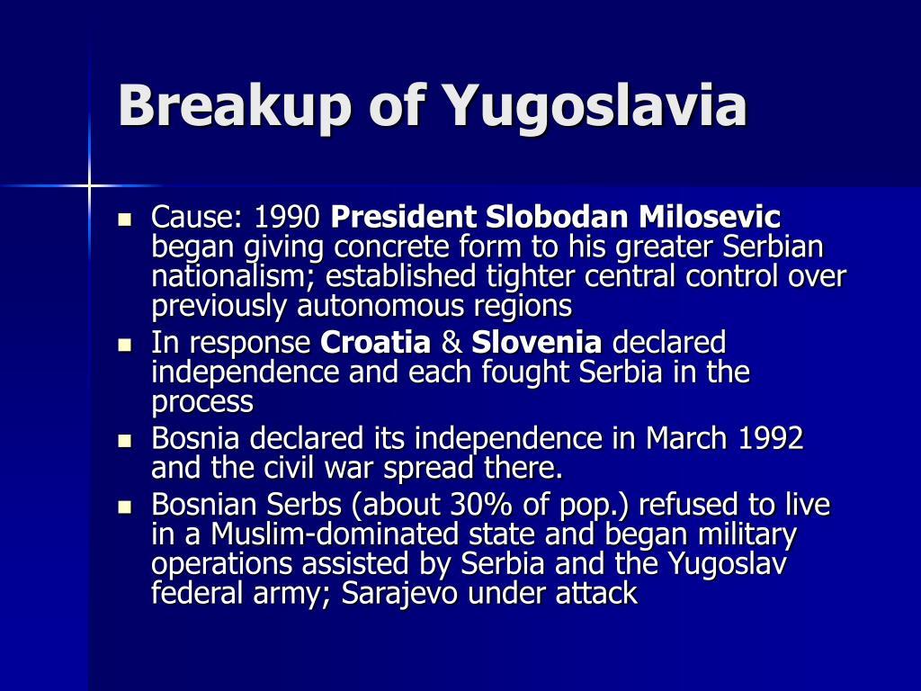 Breakup of Yugoslavia