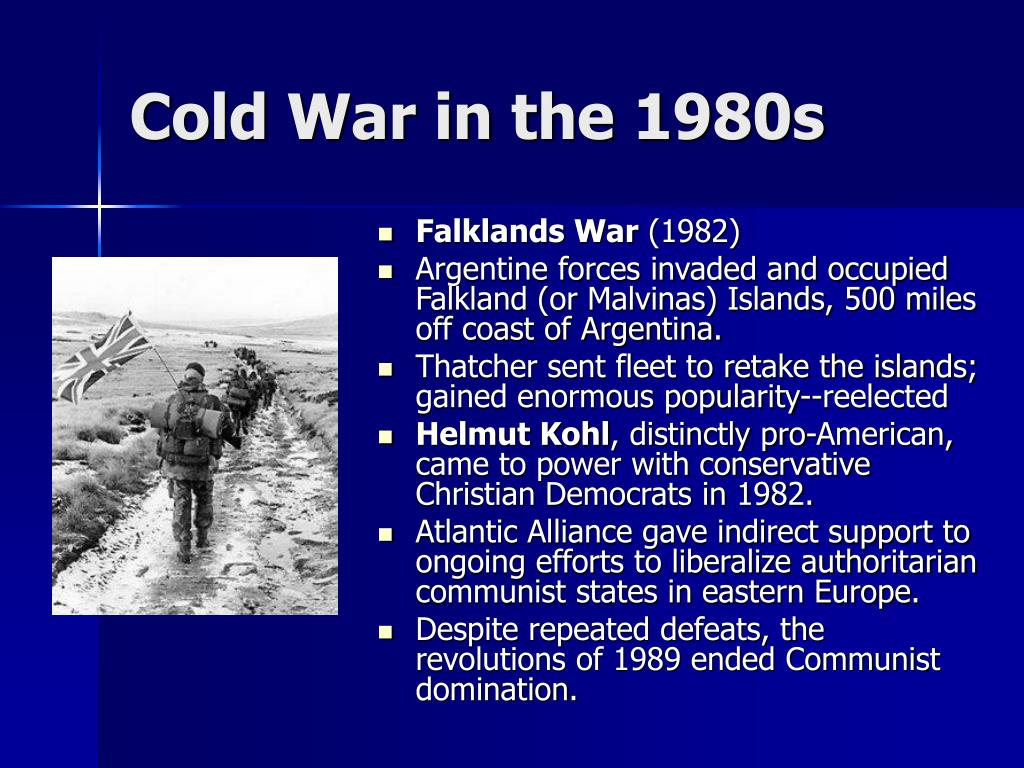 Cold War in the 1980s
