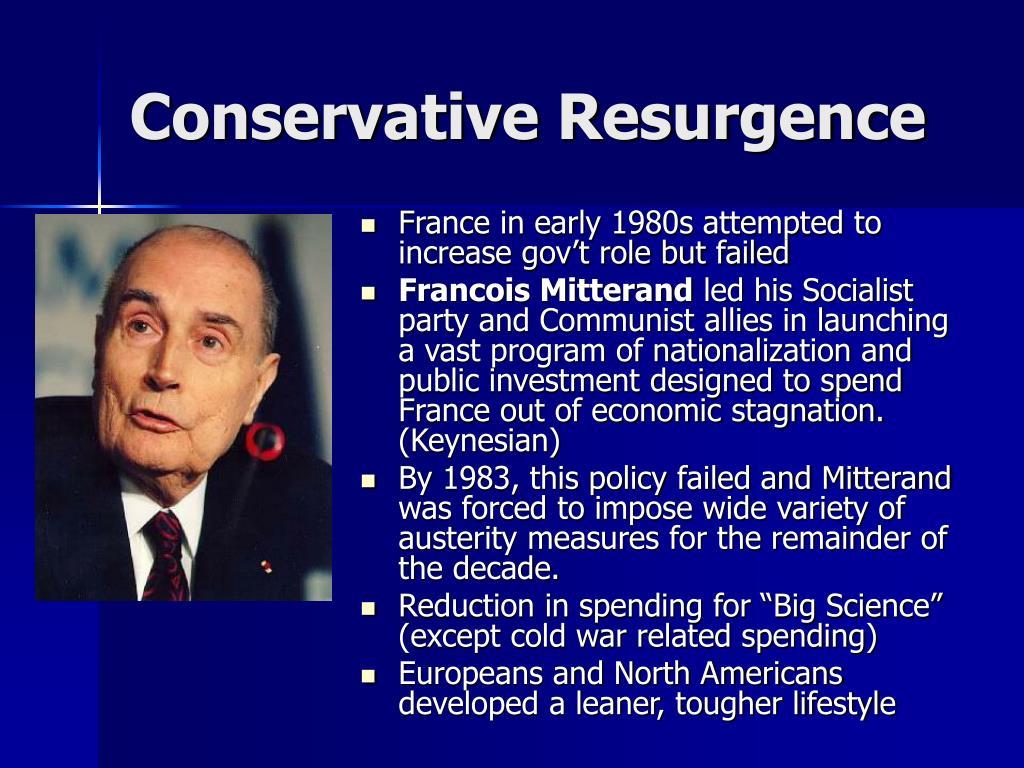 Conservative Resurgence