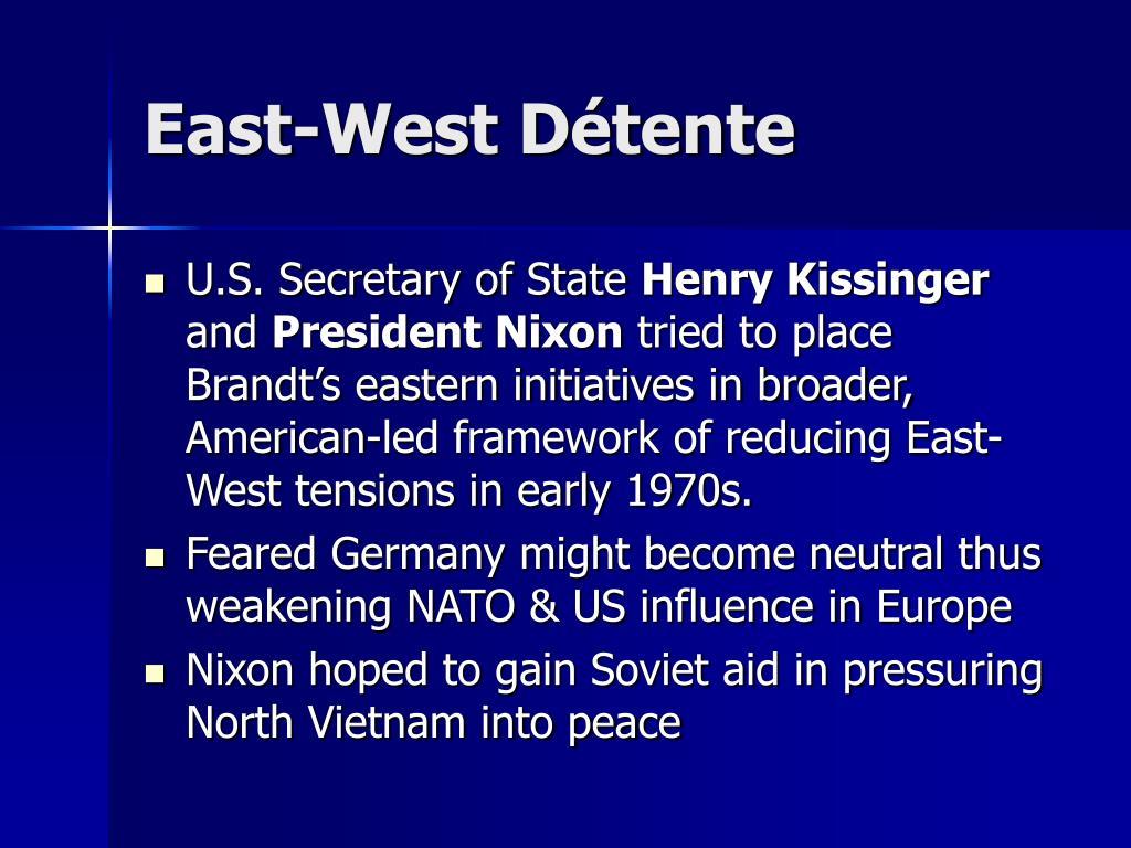 East-West Détente