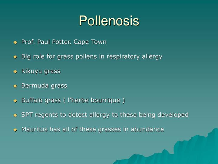 Pollenosis