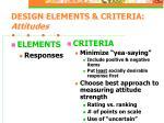 design elements criteria attitudes23