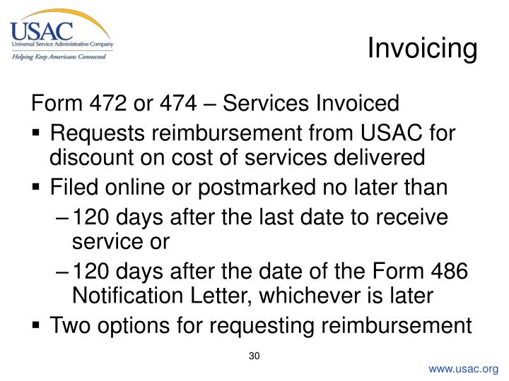 Invoicing