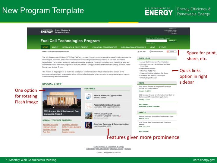 New Program Template
