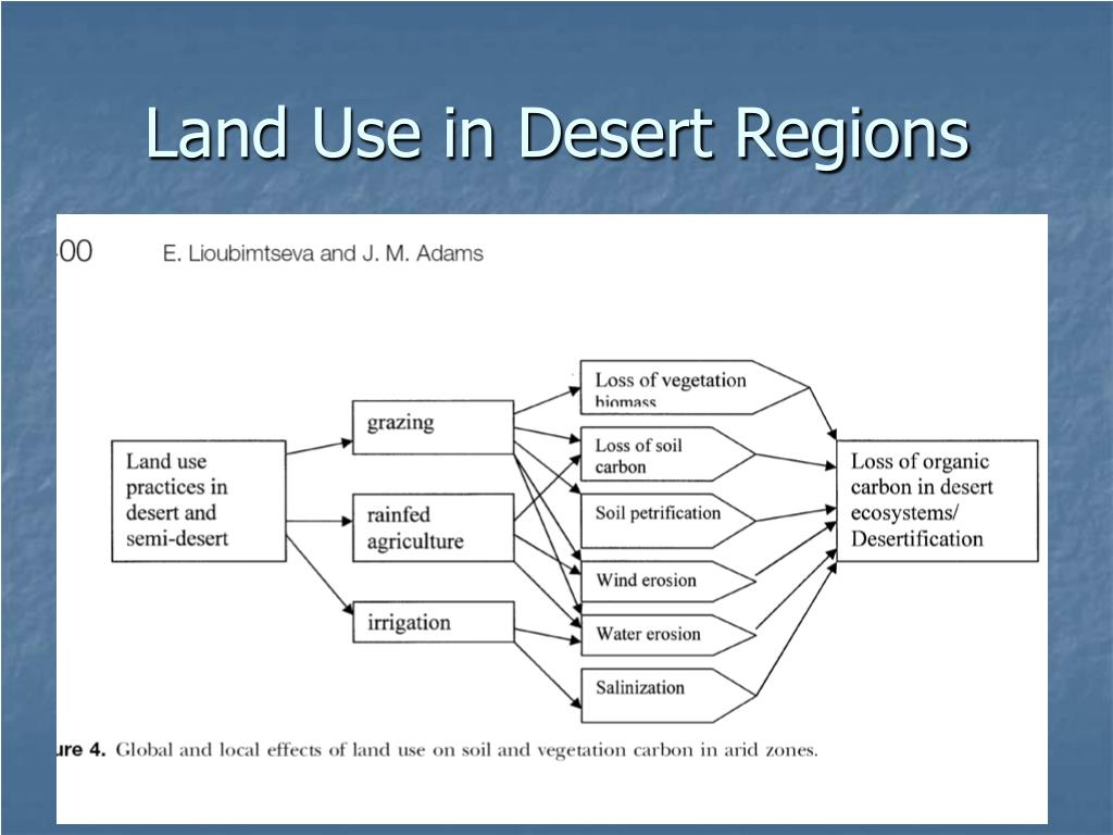Land Use in Desert Regions