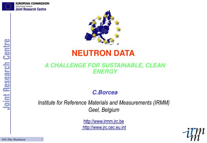 A challenge for sustainable clean energy c borcea