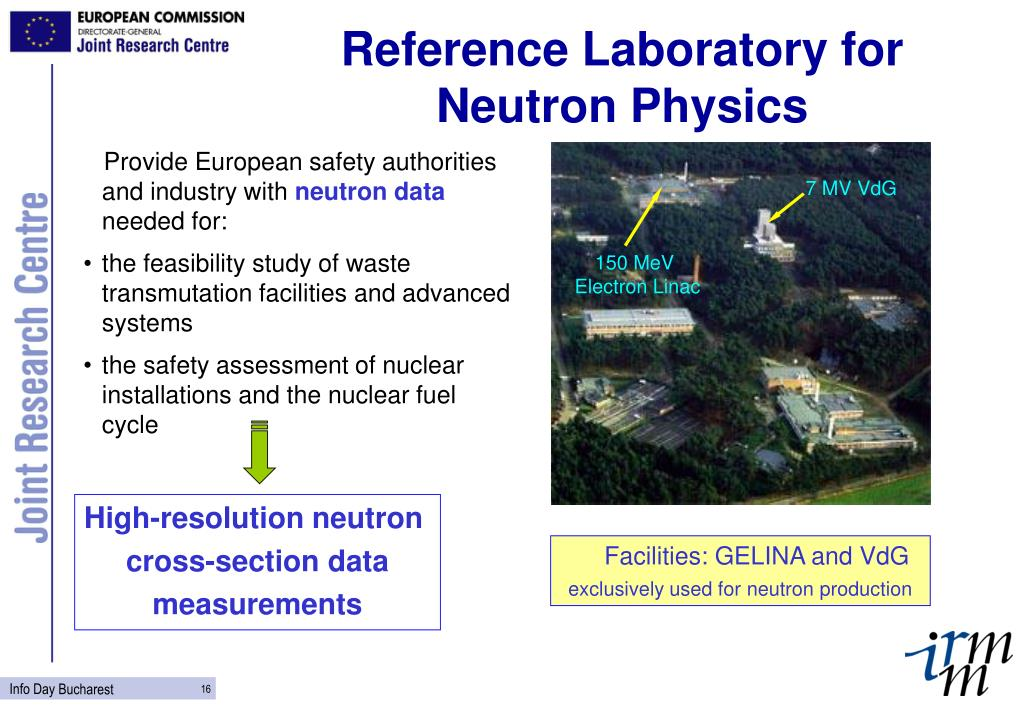 Reference Laboratory for Neutron Physics