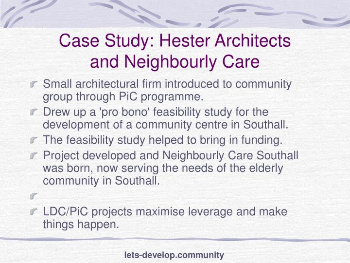 Case Study: Hester Architects
