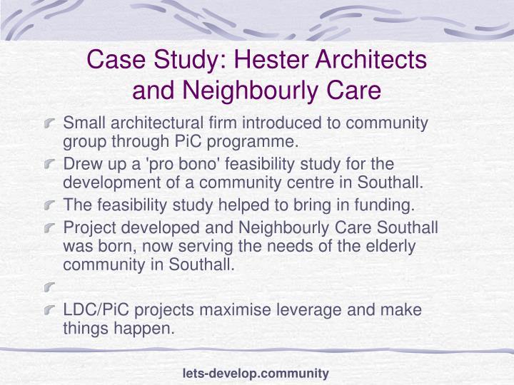 Case Study: Hester Architects