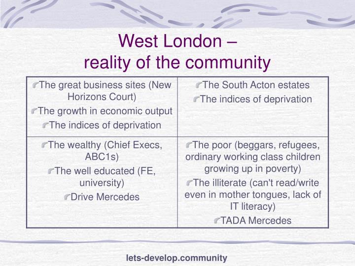 West London –