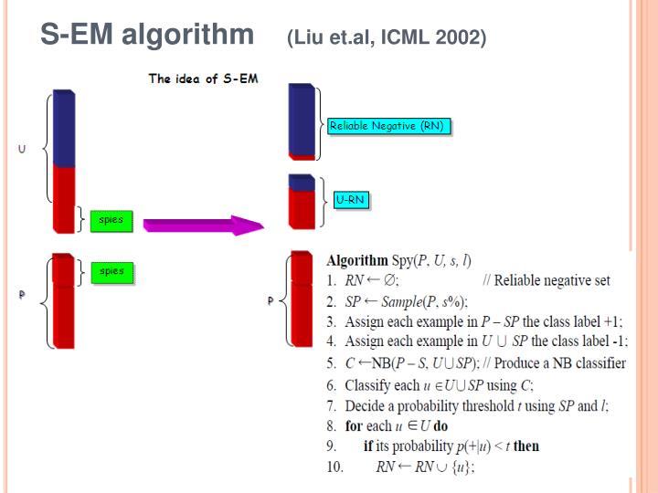 S-EM algorithm