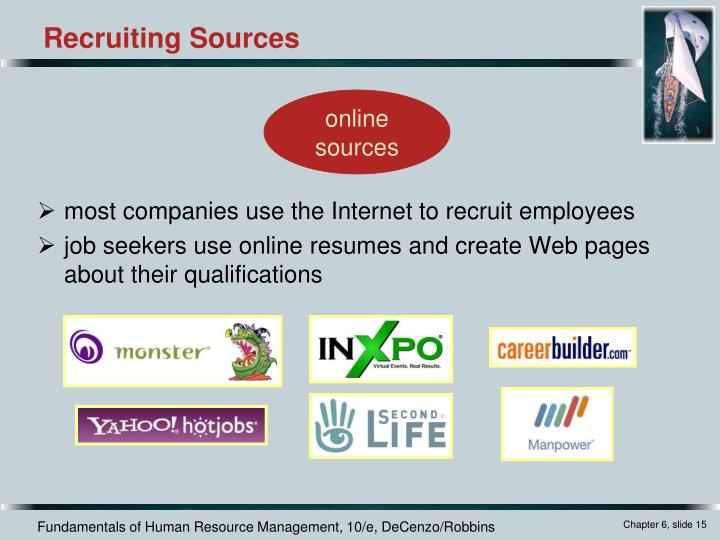 most companies use the Internet to recruit employees