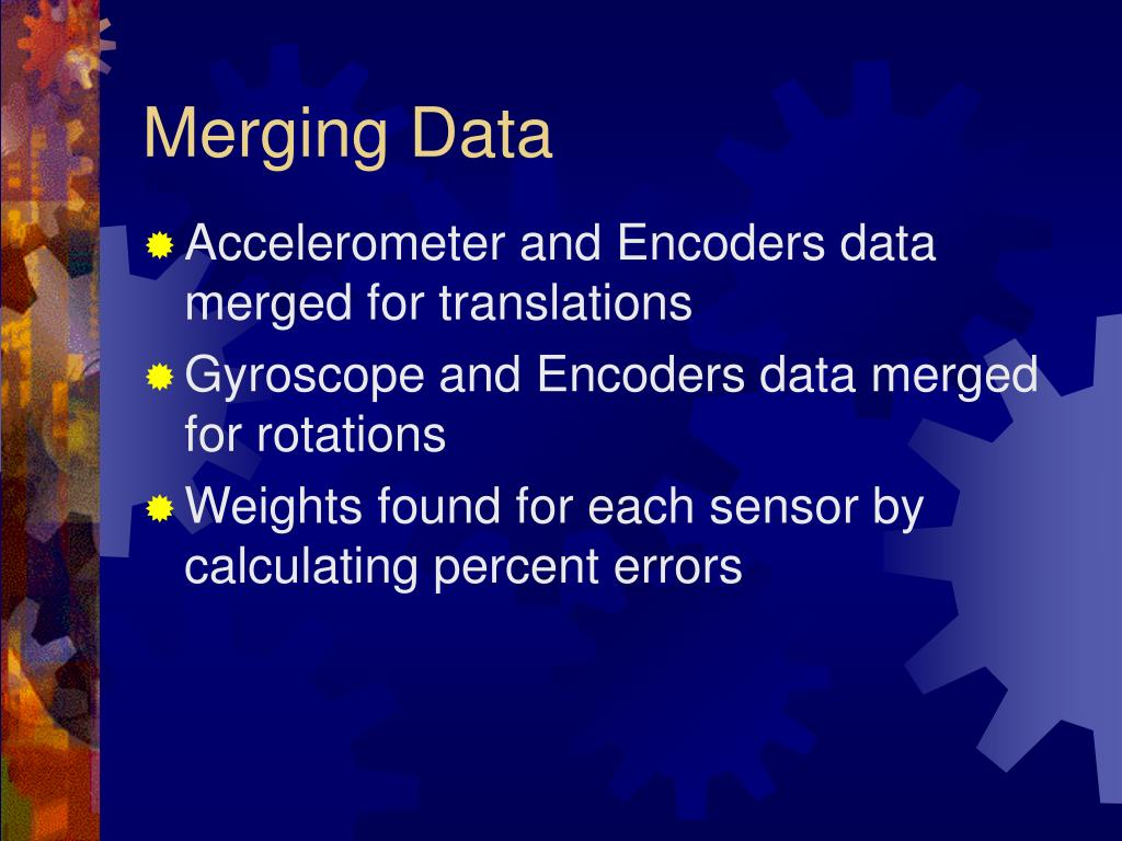 Merging Data