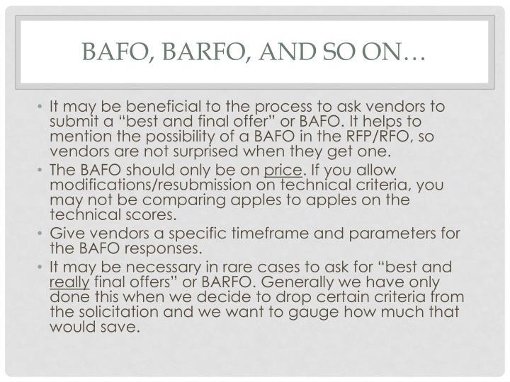 BAFO,