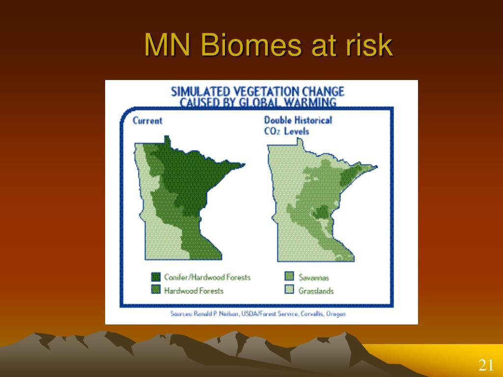 MN Biomes at risk