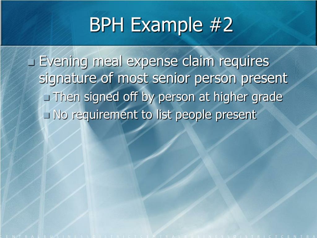 BPH Example #2